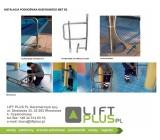 Podnośnik basenowy MET B2 instalacja