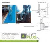 Podnośnik basenowy MET PK instalacja
