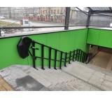 Platformy schodowe Omega w przejściach podziemnych w mieście Sosnowiec