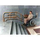 Platforma dla niepełnosprawych - platforma przyschodowa O-ga- istnieje możliwość ukrycia silnika np. za ścianą